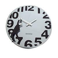 "Часы настенные ""Herald"", серебристые"