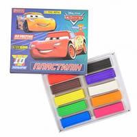 """Пластилін 10 кольорів """"1 Вересня"""" Cars"""
