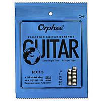 Струны для электрогитары Orphee (009-042) (010-046) оригинал