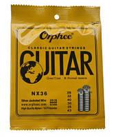 Струны нейлоновые Orphee для классических акустических гитар качество