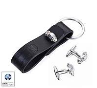 Набор брелок и запонки Cuffs&Key Beetle