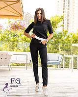 Женский костюм с брюками большие размеры 50-52