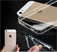 Силиконовый чехол Ультратонкий для iphone 5/5s прозрачный