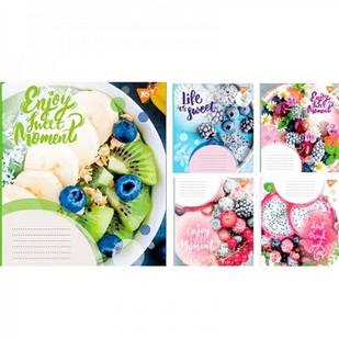 Тетрадь на 36 листов в линейку YES Enjoy Sweet Moments Floral Ideas