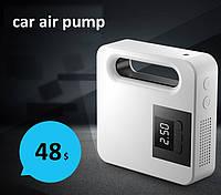 Насос  компрессор для автомобильных колес,и надувных матрасов.Car air pump.