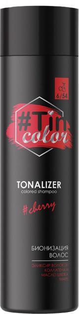 Тонирующий шампунь TIN Color Cherry Вишневый брауни (4820197005529)