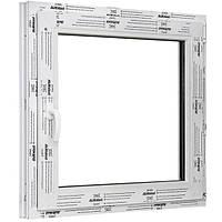 Окно одностворчатое поворотно-откидное ALMplast 500х500 мм