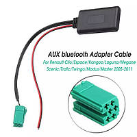 Bluetooth AUX адаптер Adapter Renault Clio Kangoo Master Megane Twingo Scenic 05-11