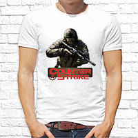 Мужская футболка Push IT с принтом Counter Strike