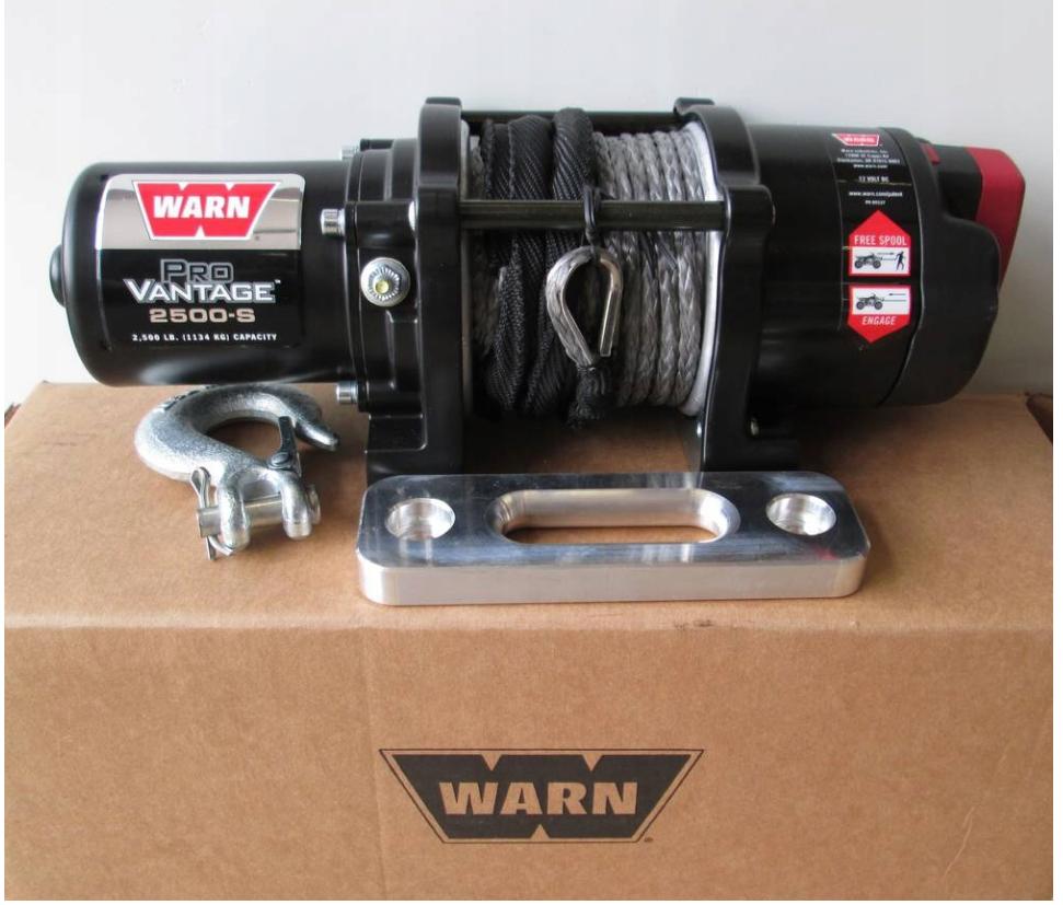 Лебедка Warn Pro Vantage 2500-S