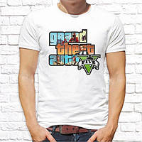 Мужская футболка Push IT с принтом Grand Theft Auto V
