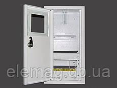 Шкаф под электронный счетчик+8 автоматов наружный