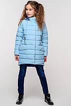 Весенняя удлиненная куртка на девочку Натти, фото 3