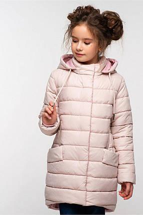 Весенняя удлиненная куртка на девочку Натти, фото 2