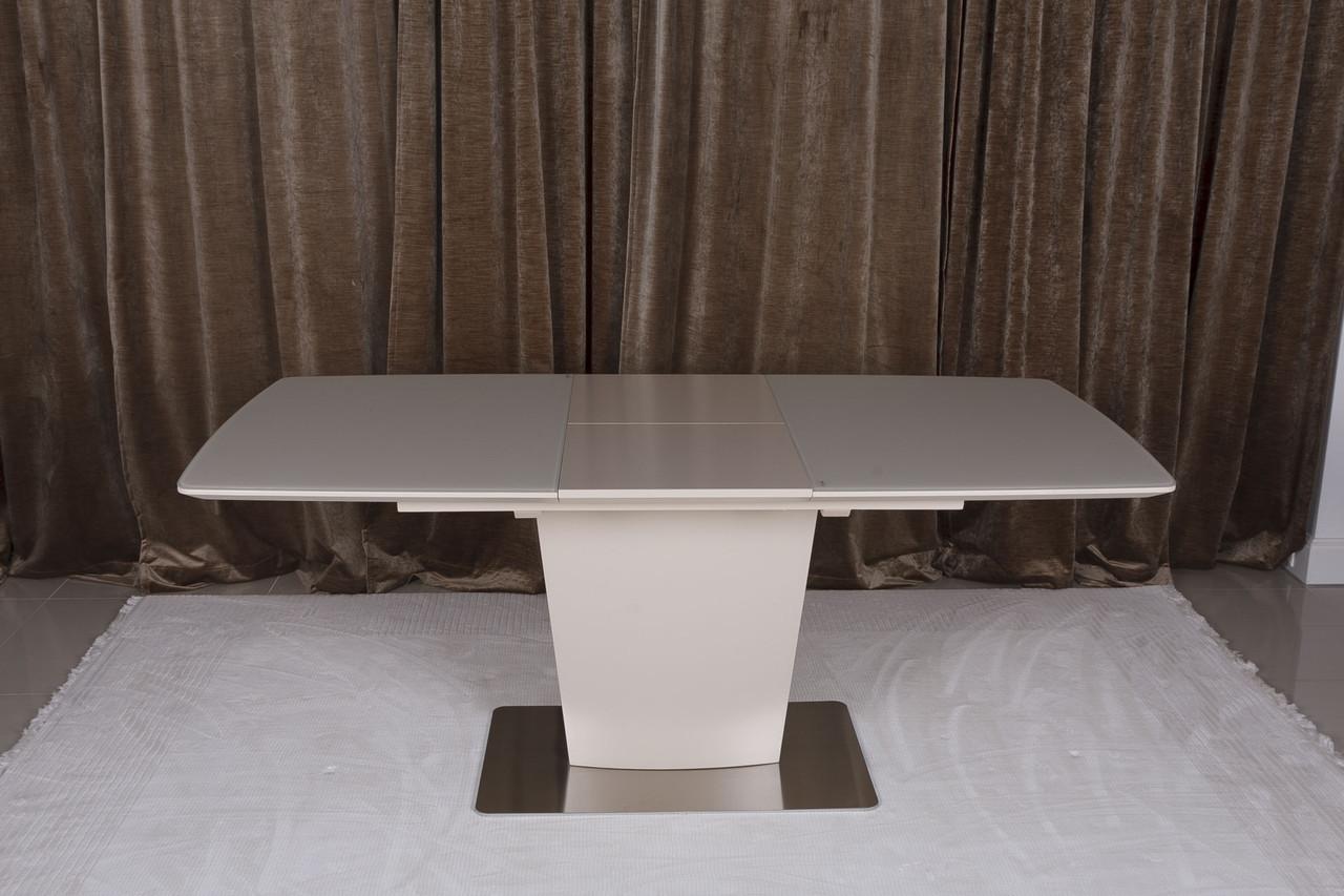 Обеденный стол CHICAGO (Чикаго) матовый капучино 120/160  от Niсolas