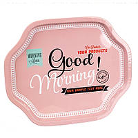 "Металлический поднос ""Good Morning"" 33х27х2 см"