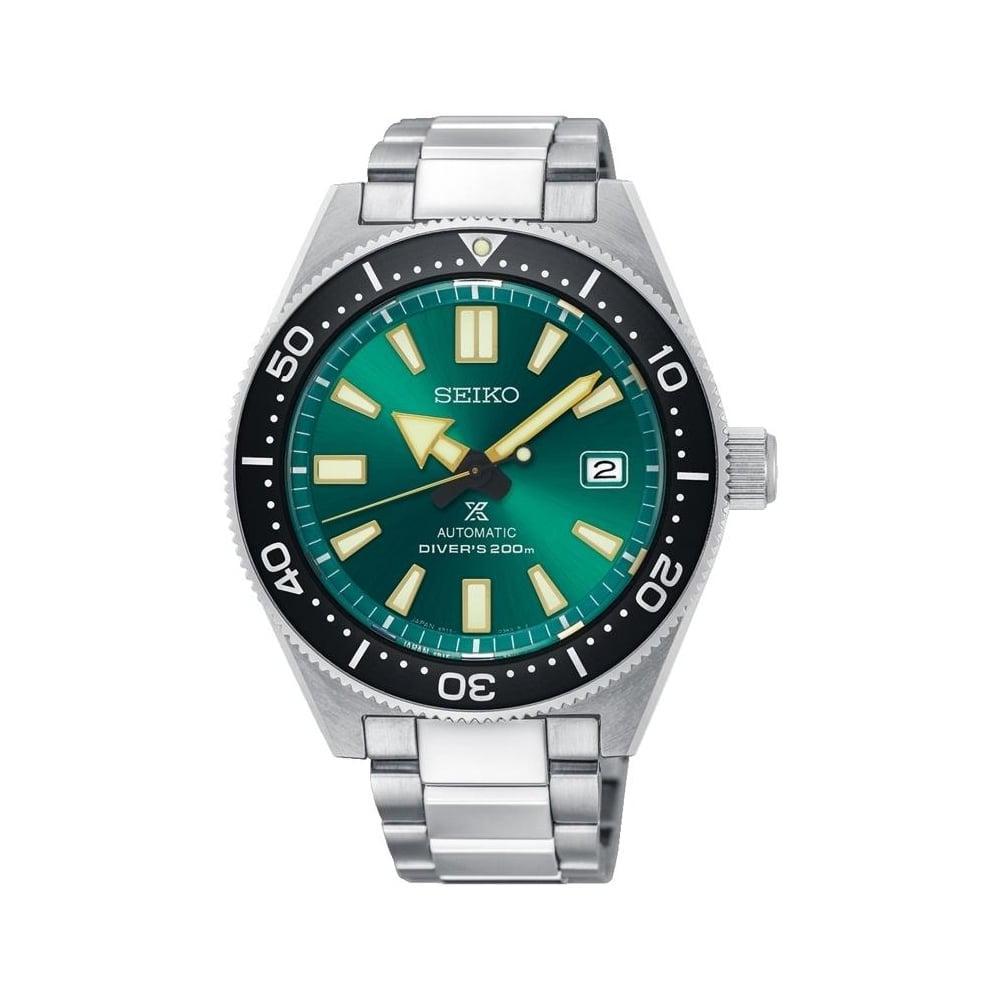 Мужские часы Seiko Prospex Green Automatic 6R15 Limited SPB081J1