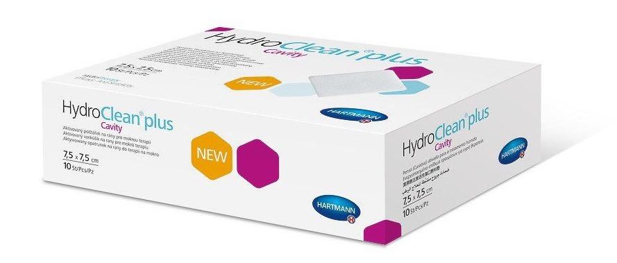 HydroClean plus Cavity 7,5x7,5см - Активированая повязка на рану для терапии во влажной среде