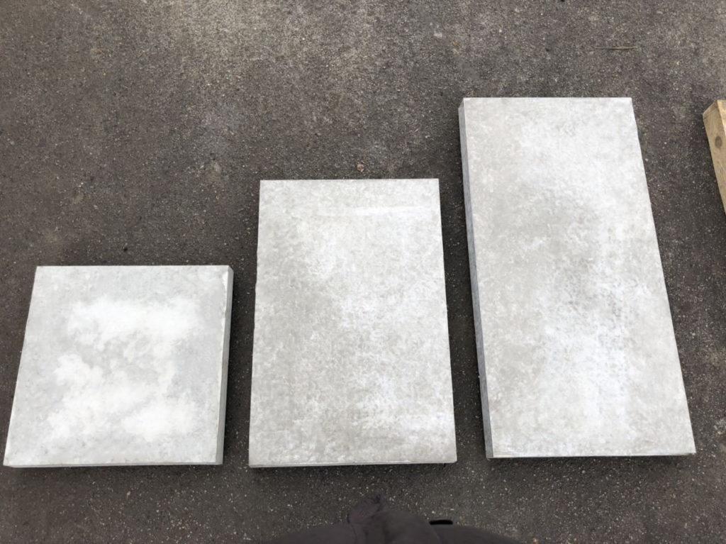 Бетонная тротуарная плита 750х500х70 (5П.7-И) армированная