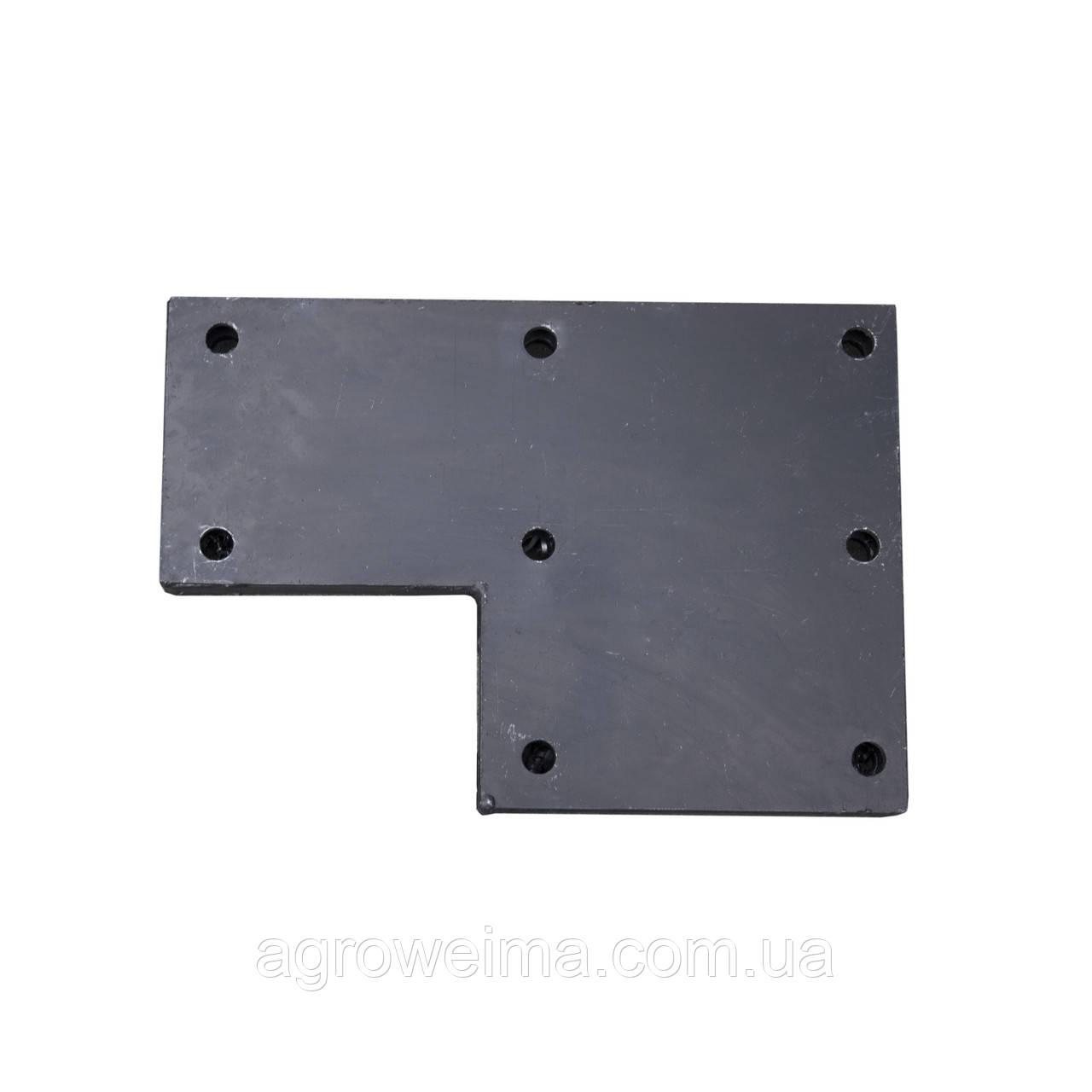 Универсальная переходная плита для мототрактора