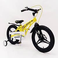 "Детский велосипед SIGMA MARS-16"" Yellow, фото 1"