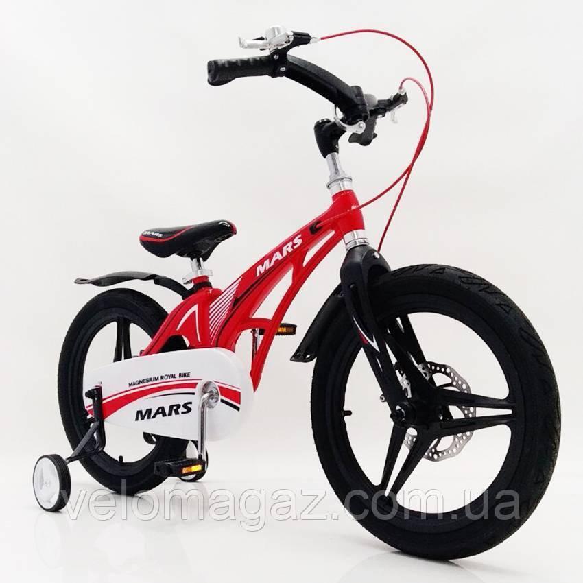 "Детский велосипед SIGMA MARS-16"" Red"