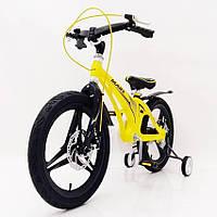 "Детский велосипед SIGMA MARS-18"" Yellow"