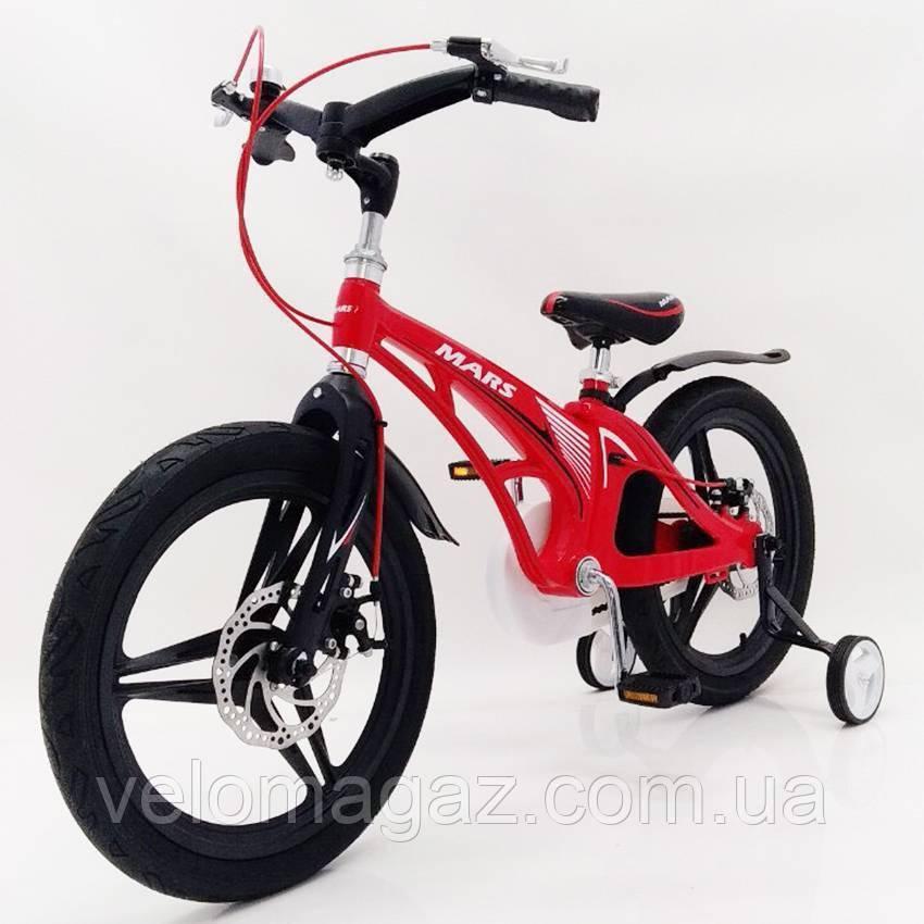 "Детский велосипед SIGMA MARS-18"" Red"