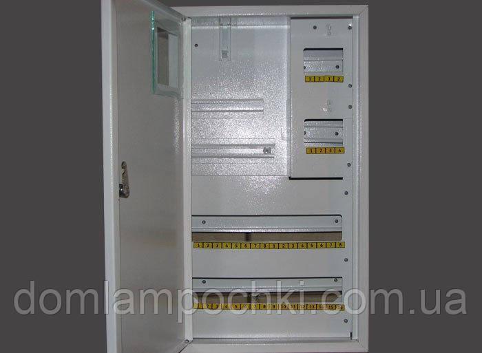 Шкаф под 3-фазный счетчик на 36 автоматов внутренний