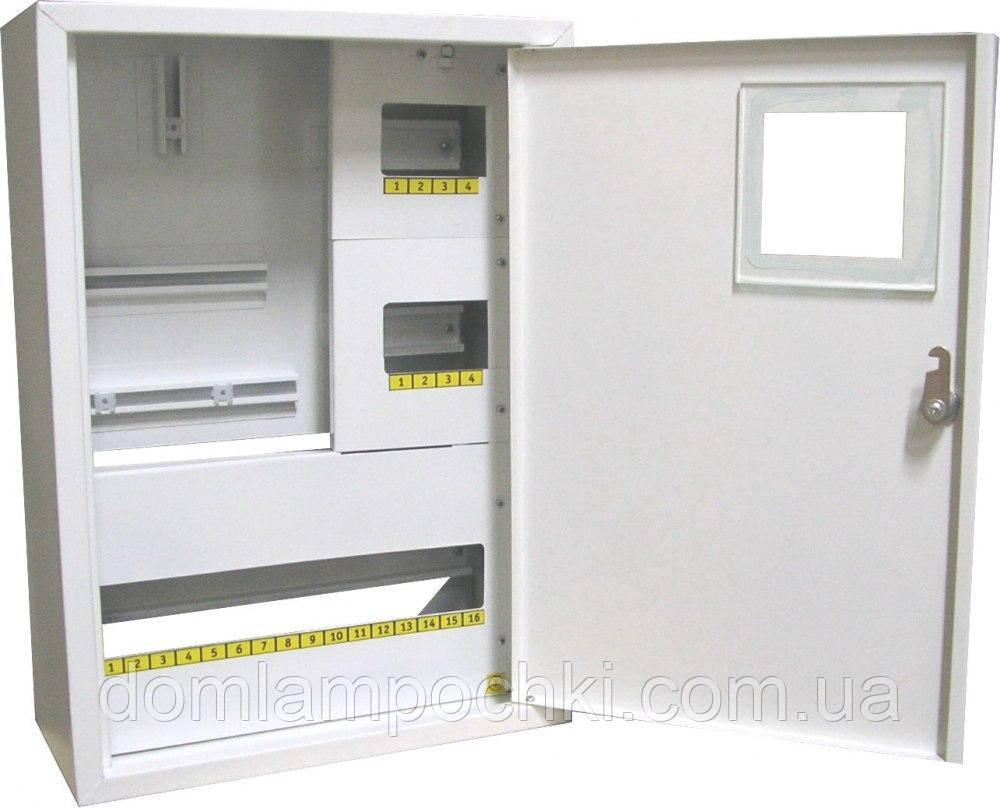 Шкаф под 3-фазный счетчик на 24 автомата внутренний
