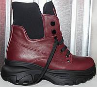 Ботинки женские зимние кожаные от производителя модель РИА-2-1, фото 1
