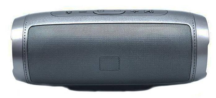 Портативная Bluetooth колонка S1000, серебристая, фото 2