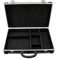 Кейс для инструмента Housetools 395 x 240 x 90 мм алюминиевый с перегородками 79K222-S
