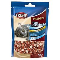 Trixie PREMIO Tuna Sandwiches лакомство-сэндвичи с тунцом для котов, 50г