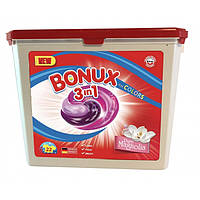 Гель-капсулы для стирки Caps Dalli BONUX Pure Magnolia для цветного белья, 22 шт