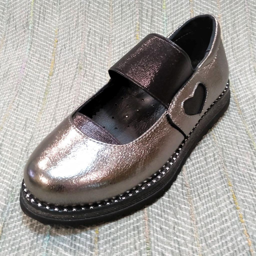 Детские школьные туфли девочка, Masheros размер 30 35