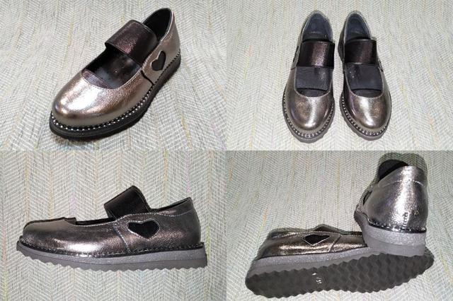 Детские школьные туфли девочка, Masheros фото