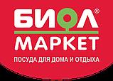 """Сковородка алюминиевая 24 см с крышкой (2404ВК) """"БИОЛ"""", фото 2"""