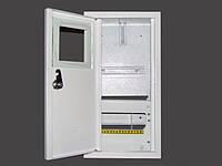 Шкаф под электронный счетчик+8 автоматов врезной