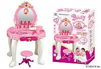 Трюмо детское Beauty 008-23 аксессуары, стульчик, звук, свет