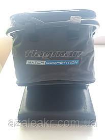 Мягкое ведро с креплением Flagman Nylon Bait Bowl Bag D25 мм ( Б/У )