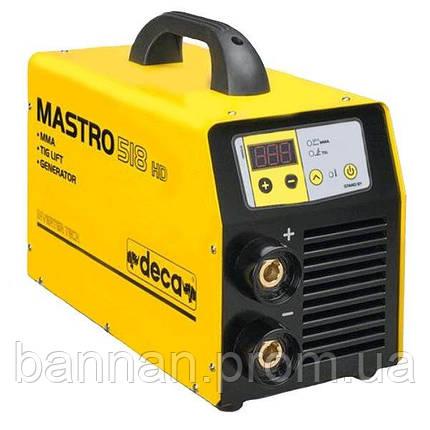 Сварочный инвертор Deca MASTRO 518 HD GEN, фото 2