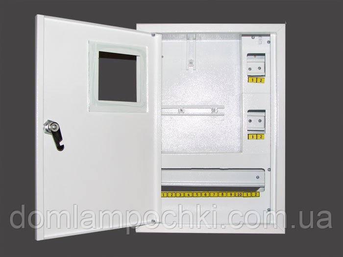 Шкаф электронный 1-фазный на 16 автоматов наружный
