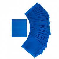 Пакеты с застежкой со струнным замком для хранения пакеты зипперы Rolli 14 x 15 cм синие 100 шт
