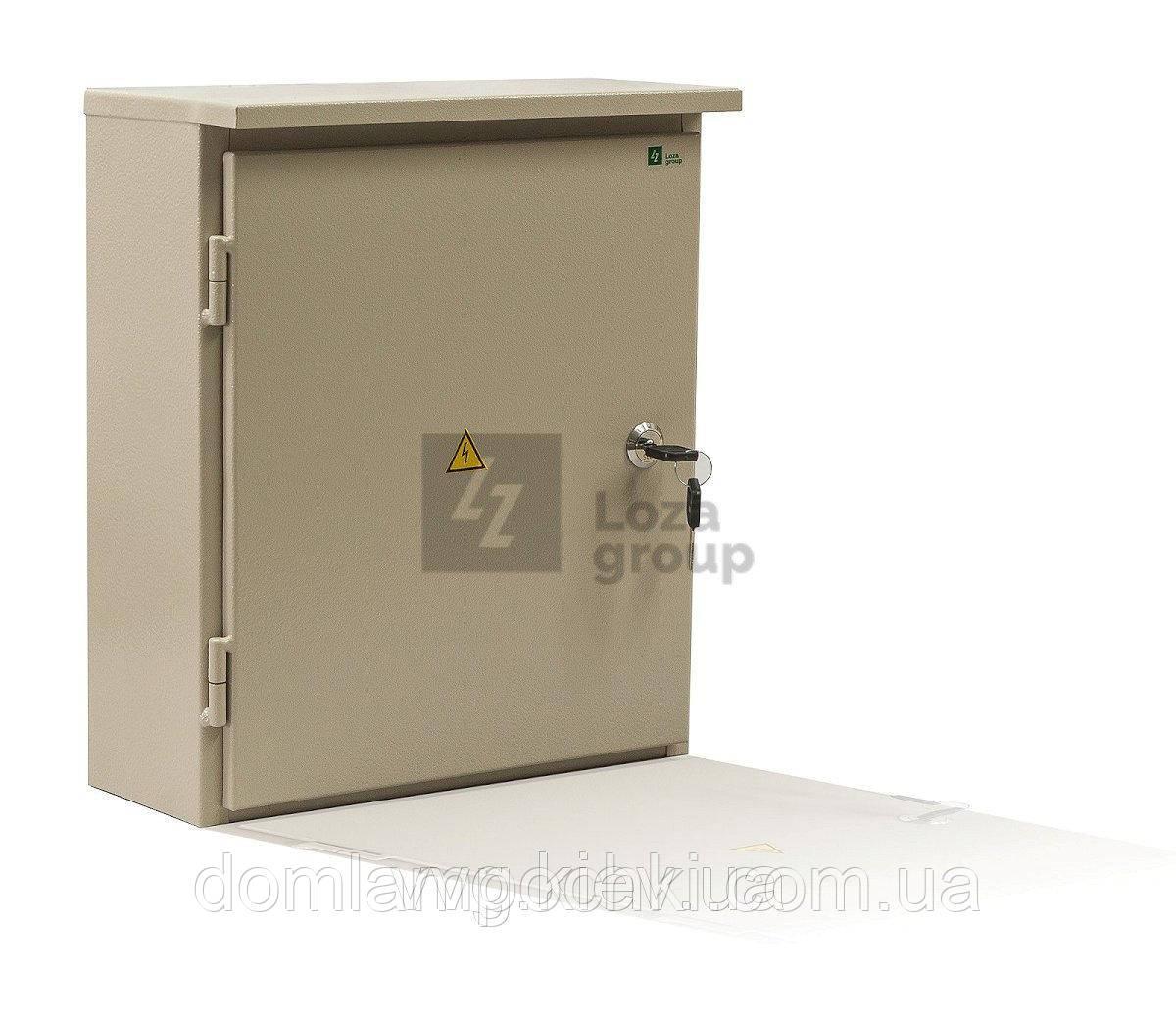 Шкаф на 24 автомата герметичный наружный