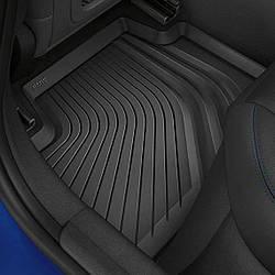 Оригинальные задние коврики с высокими бортиками BMW 3 (G20), артикул 51472462751