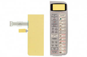 Сенсорная панель для СВЧ печи NN-C784MF Panasonic F630Y6V50SHP