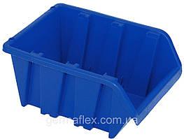 Контейнер вставний великий синій 375х235х175 мм