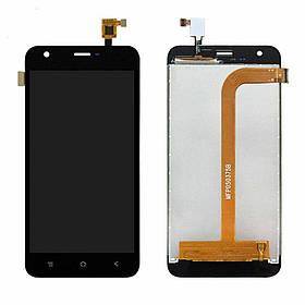 Дисплей (экран) для Assistant AS-5436 Grid с сенсором (тачскрином) черный, Chocolate Black Оригинал