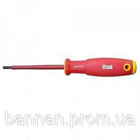 Отвертка диэлектрическая Utool 16501 шлиц 5х125 мм